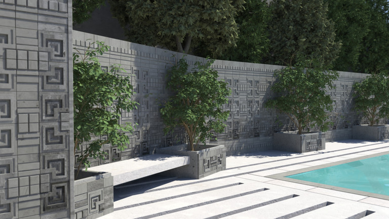 Retaining Wall for SuperStrata USA