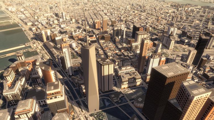 Mapbox City Generator