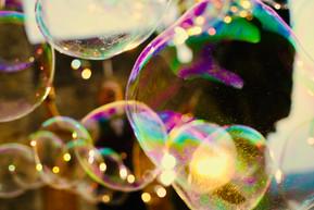 Giant bubble show