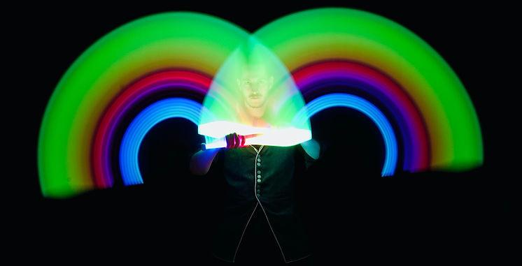 Ben'J Jongleur lumineux LED