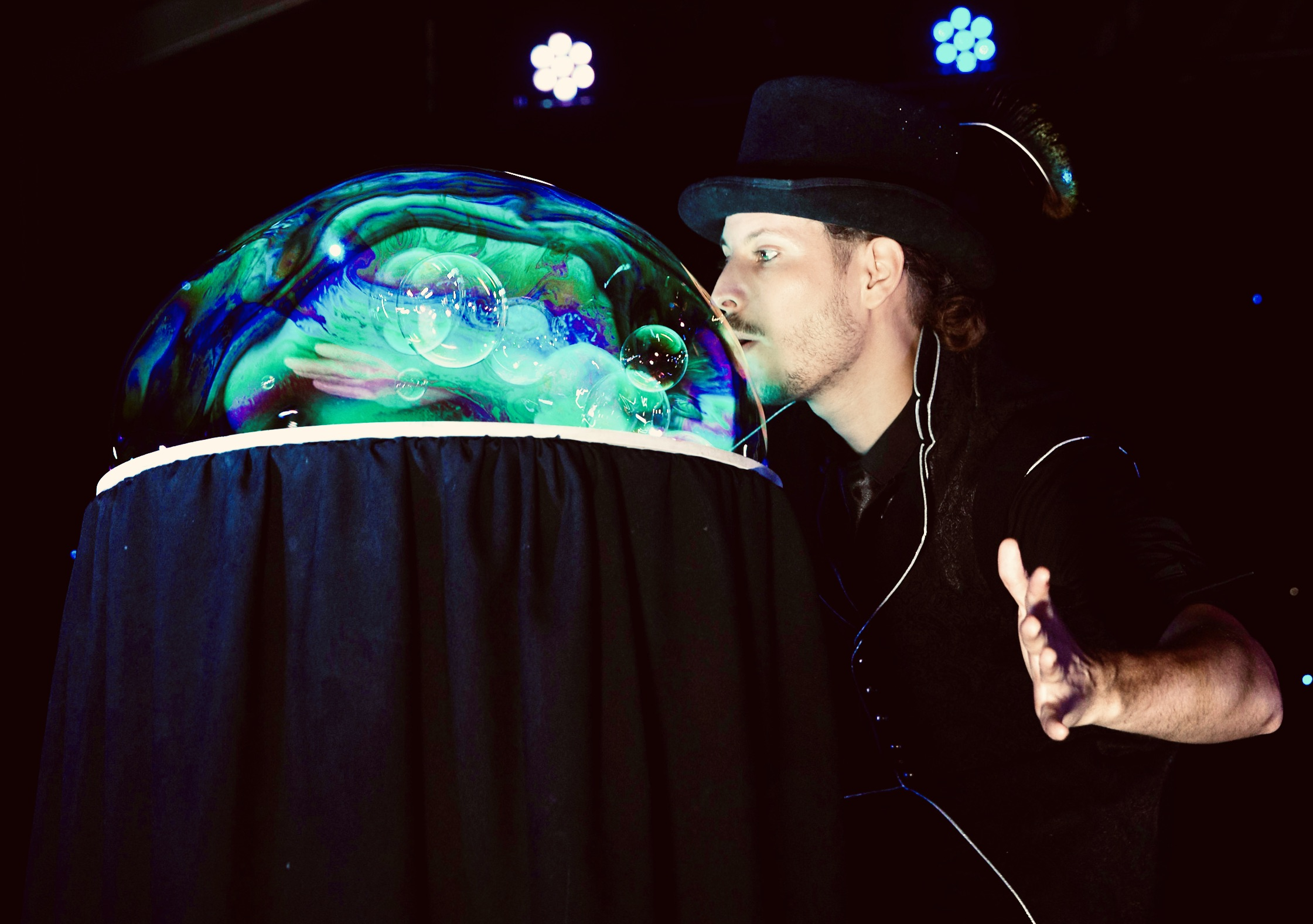 Le dôme de bulles