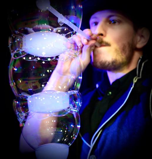 Sculpture de bulles