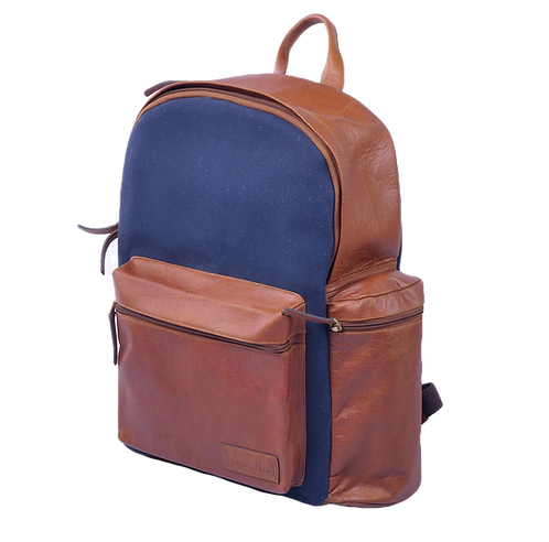 Navy Canvas Buckster