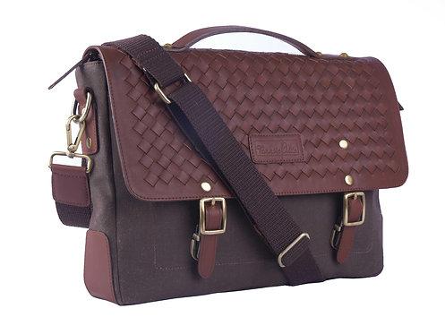 Brown Weaved Bag