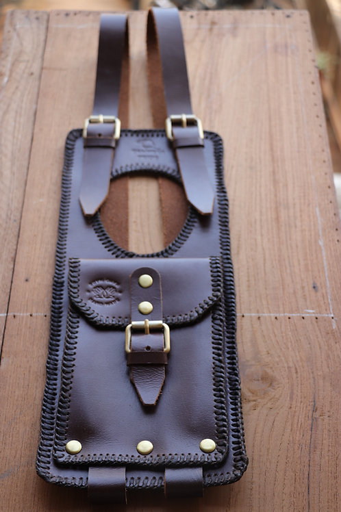 BELTED TANK CASE CLASSIC 350 (BROWN)