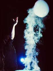 La bulle de fumée