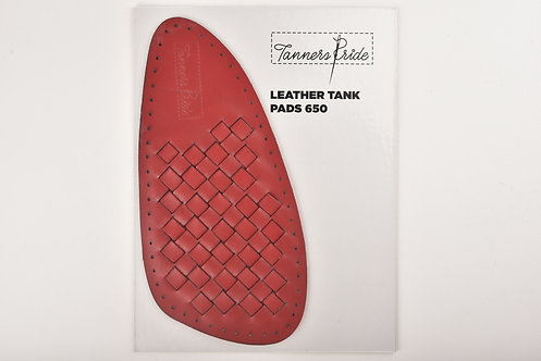 HAND WEAVE TANK PAD RED