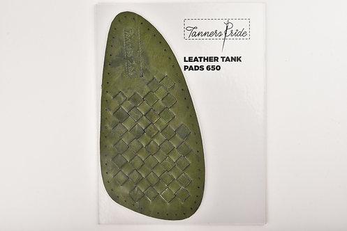 HAND WEAVE ARMY GREEN TANK PAD