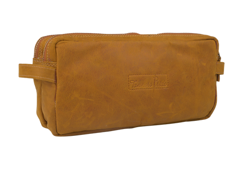 TOILETRY BAG (MUSTARD)