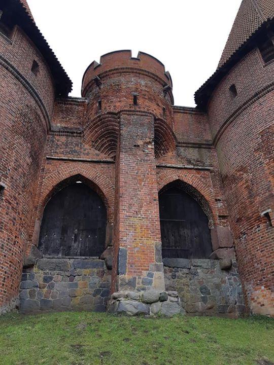 Замок Мальборк  и старый Эльблонг