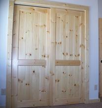 Pine Door Closet