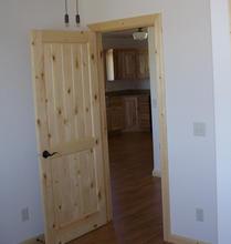 Pine Door Interior