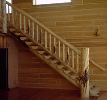 Log Staircase 3