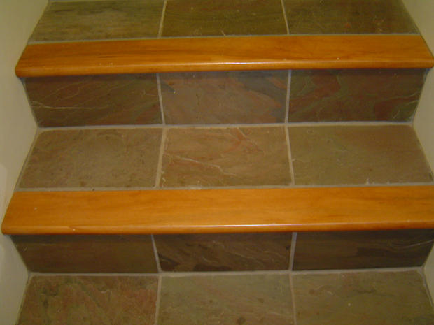 Slate stairs 1
