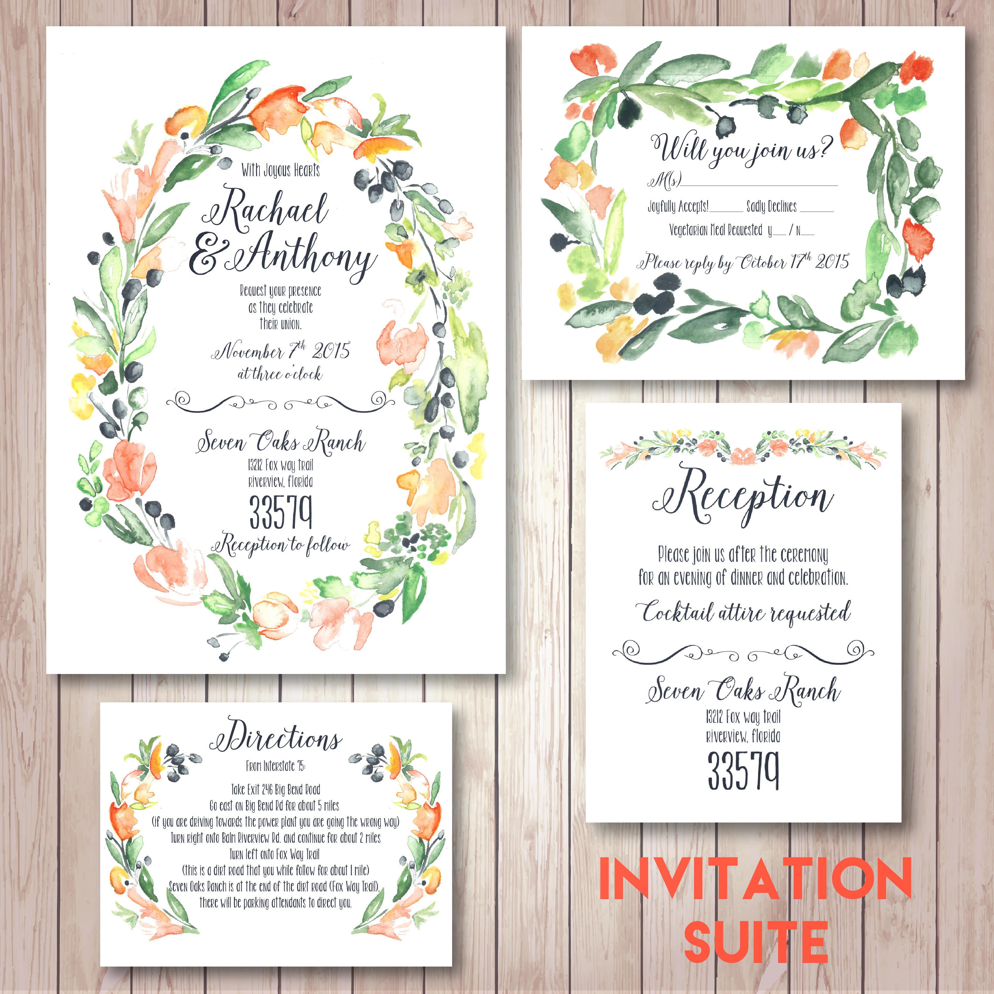 Invitation Suite | Stationary