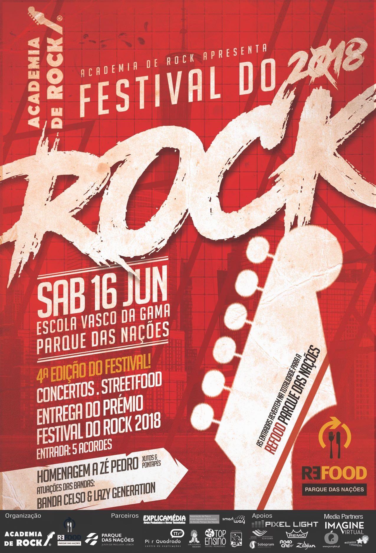 FESTIVAL DO ROCK 2018