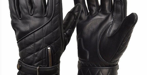 GOLDTOP The Quilted Cafe Racer Gloves キルトカフェレーサーグローブ