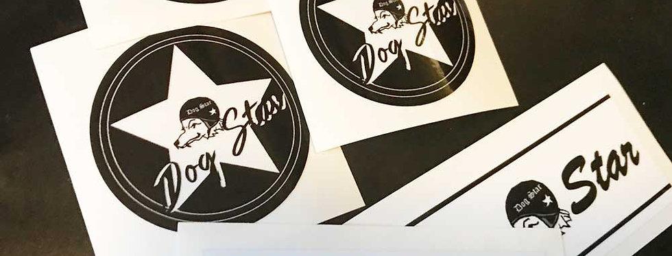 DOGSTAR オリジナルステッカー2枚組