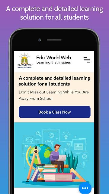Edu-World Web _screenshot_1