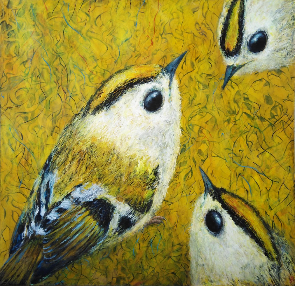 Goldcrests    SOLD