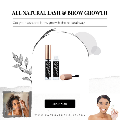 GROW | LASH + BROW GROWTH OIL  {ALL NATURAL}