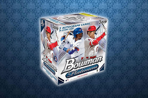 2019 Bowman Platinum 1 Box Break #1-RT