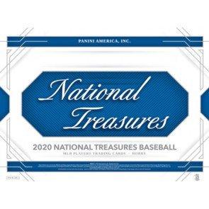 2020 Panini National Treasures Baseball 1 Box Break #1-PYT