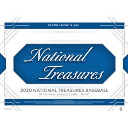 2020 Panini National Treasures Baseball 1 Box Break #1-PYT