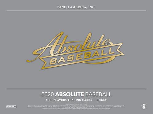2020 Panini Absolute Baseball 2 Box Break #1-PYT
