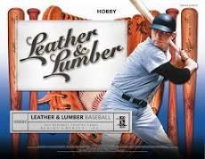 2019 Panini Leather & Lumber Baseball 1 Box Break #1-Random Tiered Teams