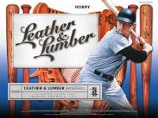 2019 Panini Leather & Lumber Baseball 1 Box Break #1-Random Tiered Teams