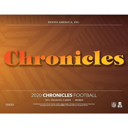 2020 Panini Chronicles Football 1 Box Break #1-PYT