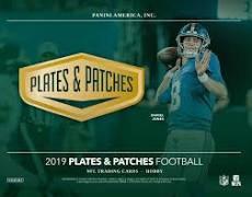 2019 Panini Plates & Patches Football 1 Box Break #1-PYT