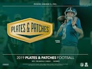2019 Panini Plates & Patches Football 1 Box Break #1-PYT