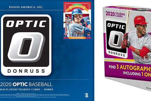 Dual MLB Box - 2020 Panini Donruss Optic & 2020 Panini Donruss Optic FOTL - PYT