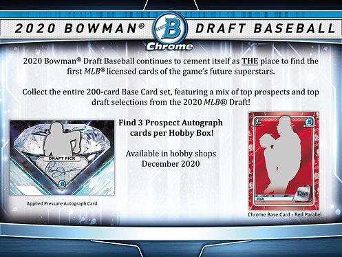 2020 Bowman Draft Jumbo 1 Box Break #1-PYT