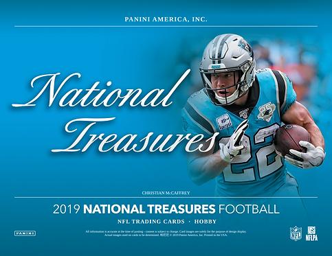 2019 Panini National Treasures Football FOTL 1 Box Break #1-PYT