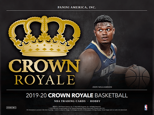2019-20 Panini Crown Royale FOTL Basketball 1 Box Break #1-PYT