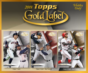 2018 Topps Gold Label 1 Box Break #2-Tiered Random Teams