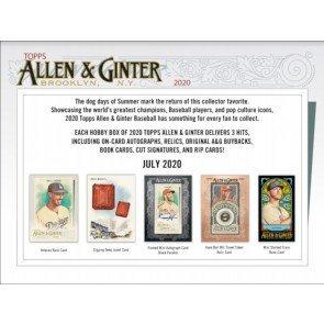 2020 Topps Allen & Ginter 1 Box Break #2-RT