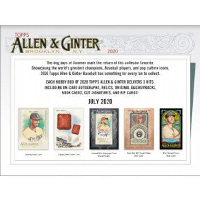 2020 Topps Allen & Ginter 1 Box Break #1-PYT