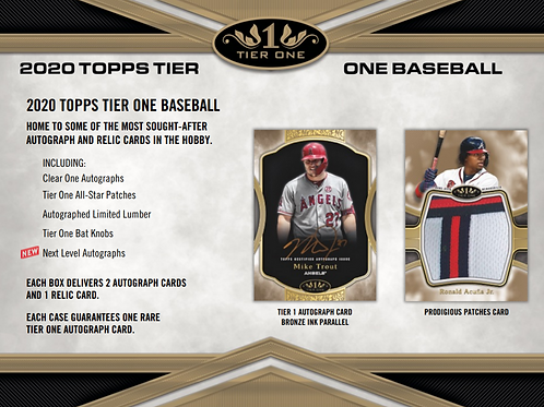 2020 Topps Tier One 3 Box Break #3-PYT