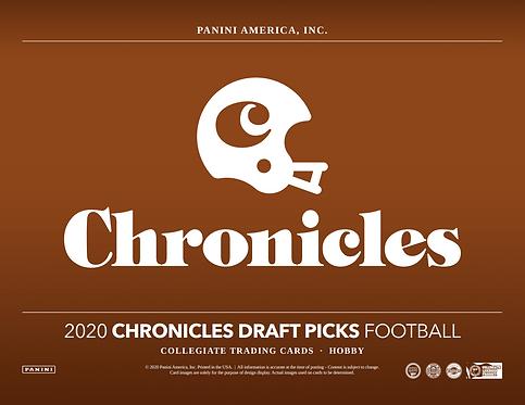 2020 Panini Chronicles Draft Picks Football 1 Box Break #1-PYT