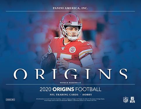 2020 Panini Origins Football 1 Box Break #1-PYT