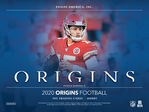 2020 Panini Origins Football 1 Box Break #1-PYT