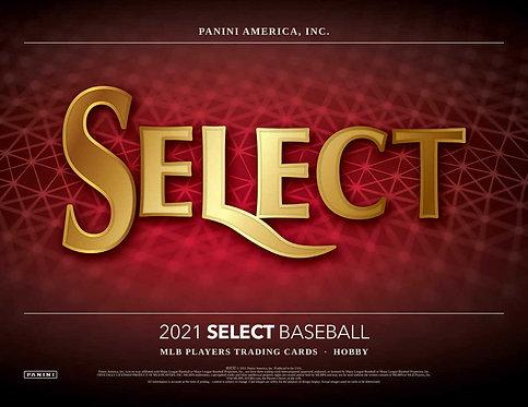 2021 Panini Select Baseball 1 Box Break #1-PYT