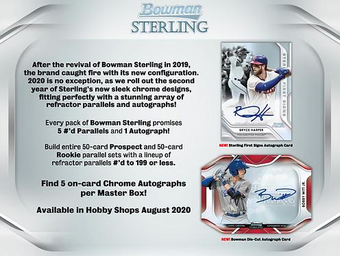 2020 Bowman Sterling 1 Box Break #6-PYT