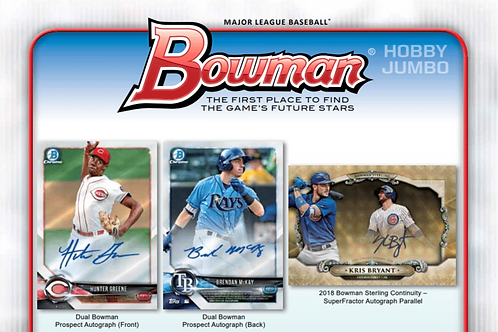 2018 Bowman Chrome HTA 1 Box Break #1-RT