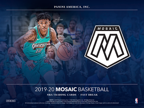 2019-20 Panini Mosaic Mega 1 Box Break #1-PYT