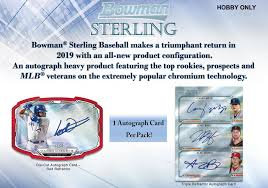2019 Bowman Sterling 1 Mini Box Break #4-RT